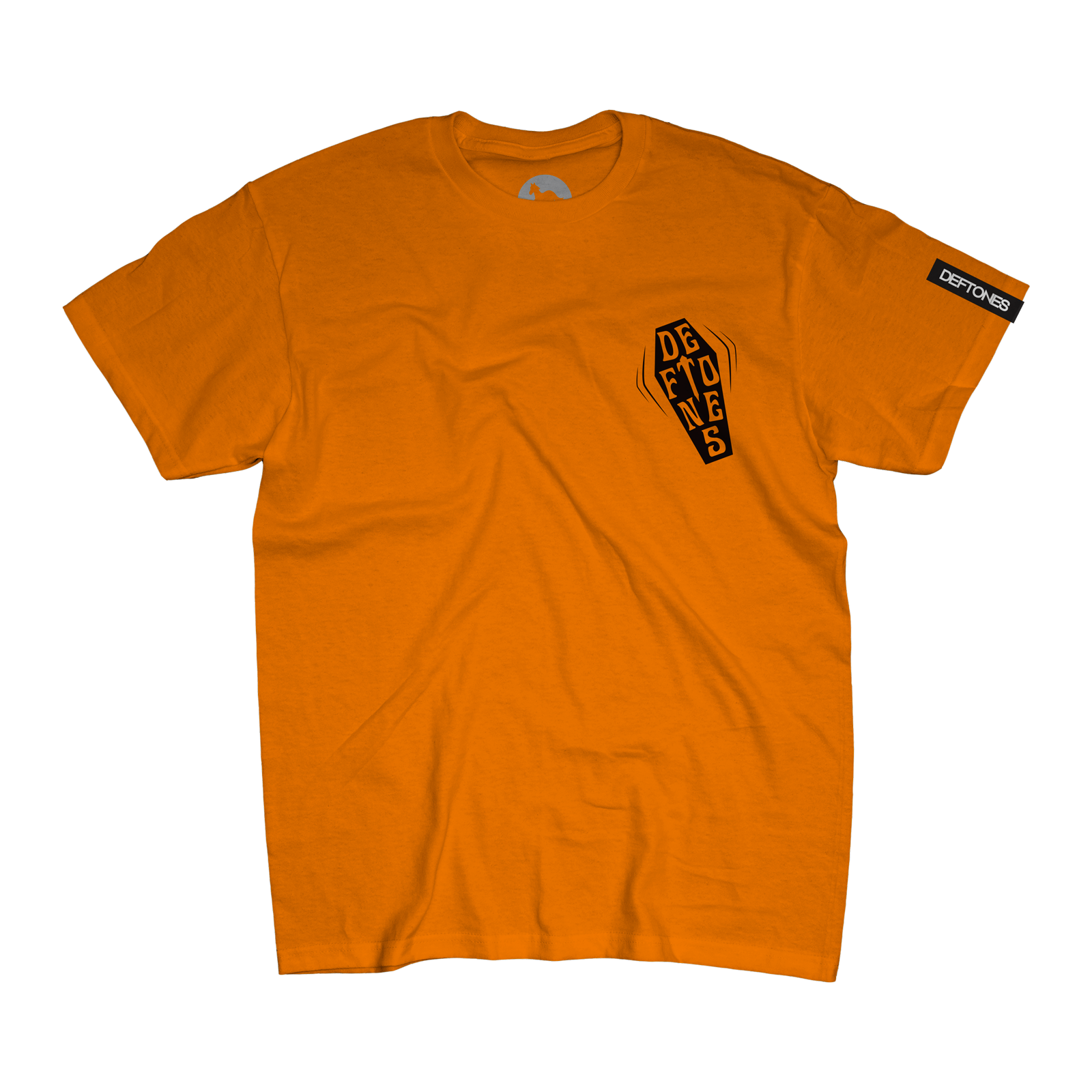 Coffin Logo Tee on Orange