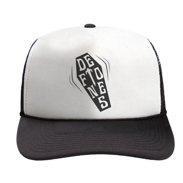 Coffin Logo Trucker Cap