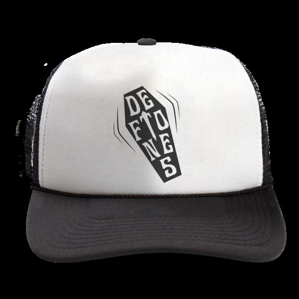Coffin Logo Trucker Cap