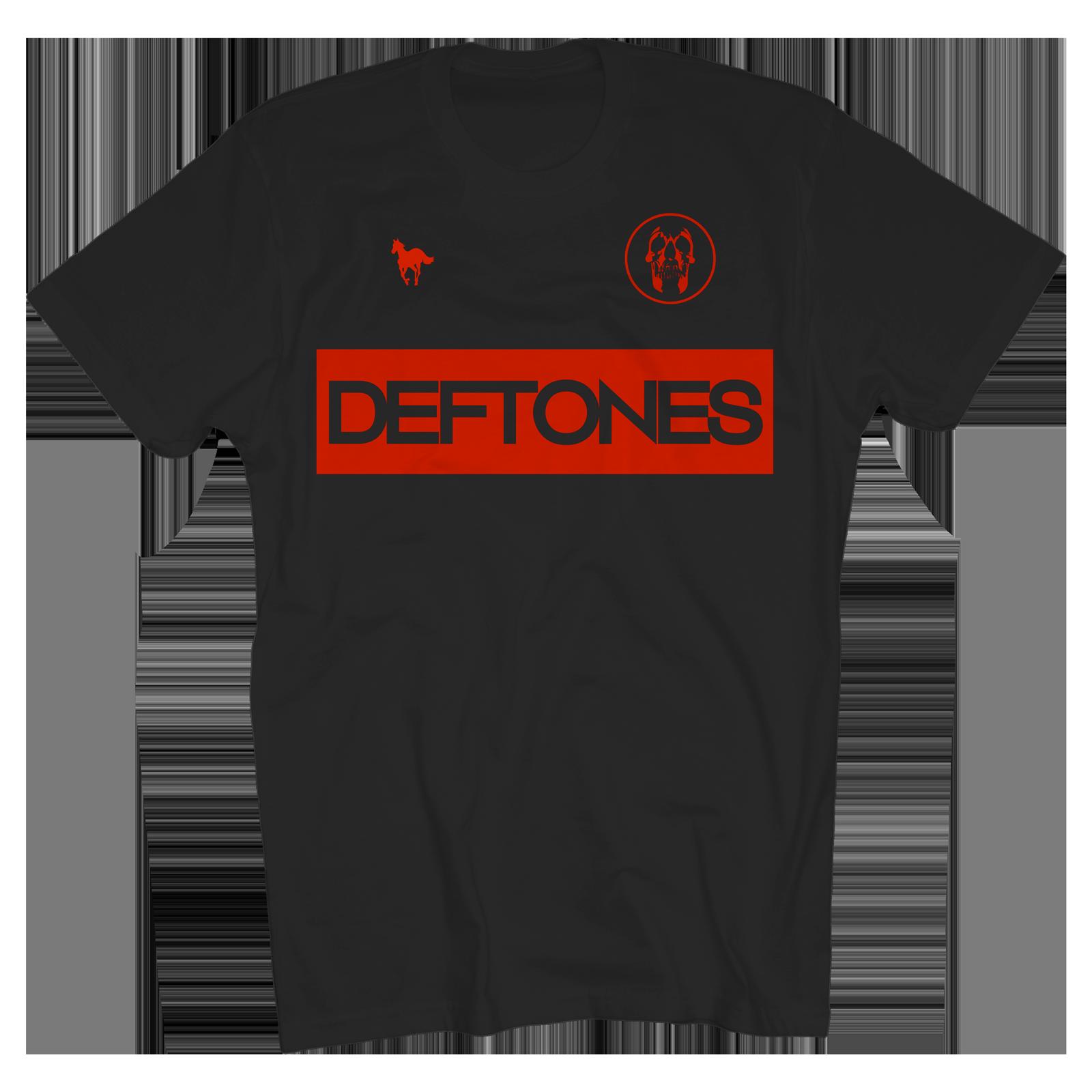 Deftones Football Tee