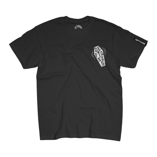 Coffin Logo Tee on Black