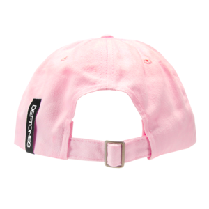 White Pony Pink Dad Hat