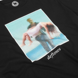 Pixel Beach Black T-Shirt
