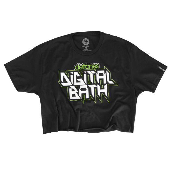 Belching Beaver Digital Bath Raw Edge Crop Tee