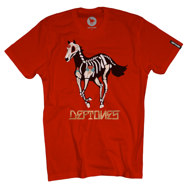 DDLD Pony on Red T-Shirt