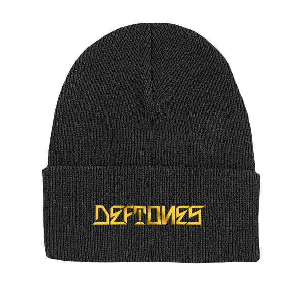 DDLD Metallic Embroidered Beanie