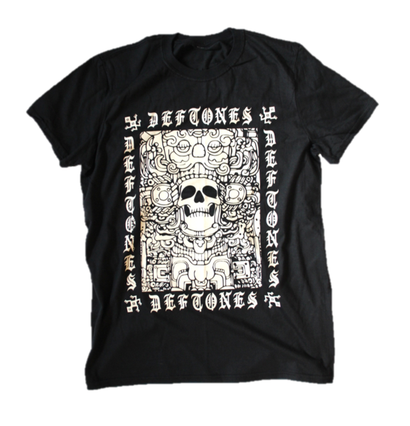 Ancient Skull Variant T-Shirt (Black)