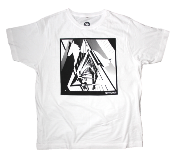 Pony Triangle T-Shirt (White)
