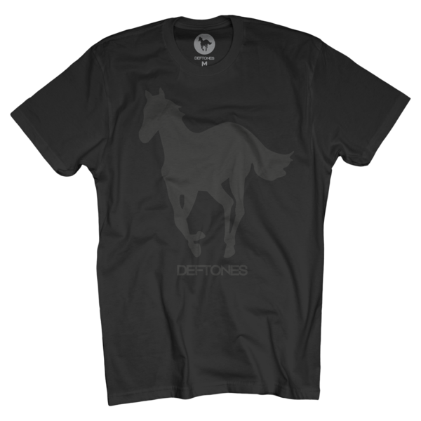 Black on Black Pony T-Shirt