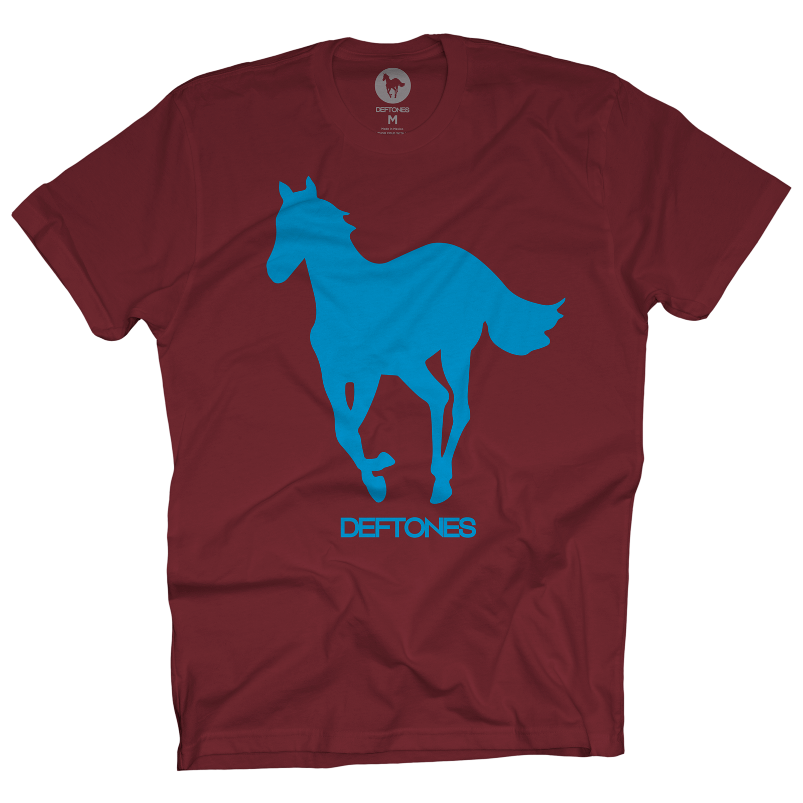 Blue on Cardinal Pony T-Shirt