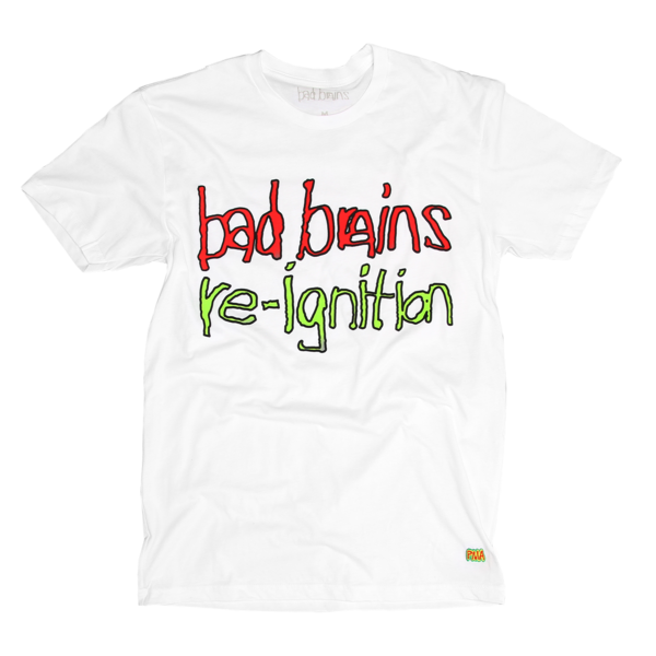 I Against I Re-Ignition White T-Shirt