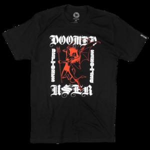Doomed User Black T-Shirt