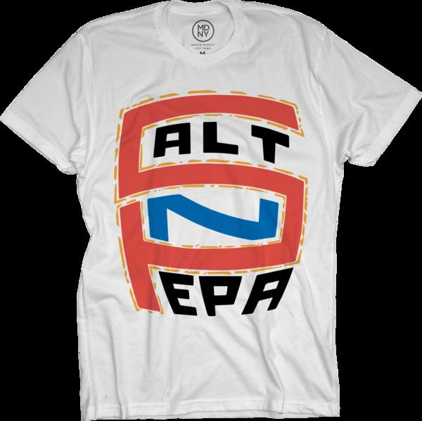 Salt N Pepa Logo White T-Shirt
