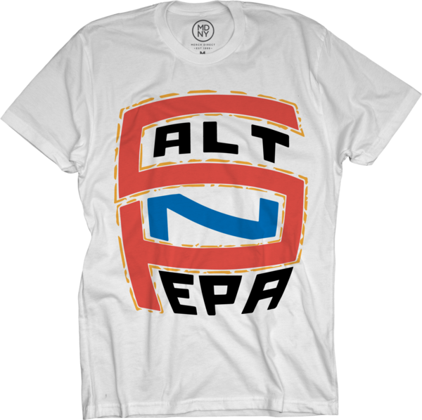 Salt N Pepa Logo White T-Shirt