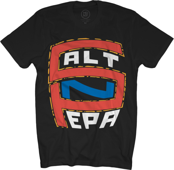 Salt N Pepa Logo Black T-Shirt