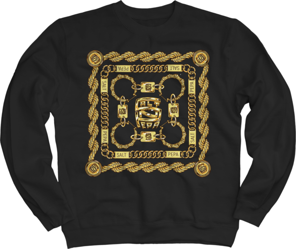 Gold Links Crewneck Sweatshirt