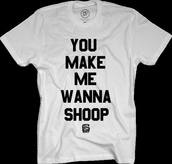 Shoop on White T-Shirt