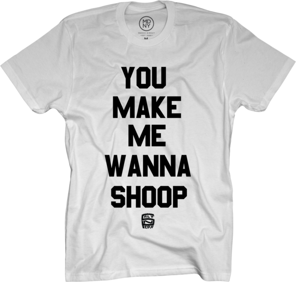 Shoop on White T-Shirt