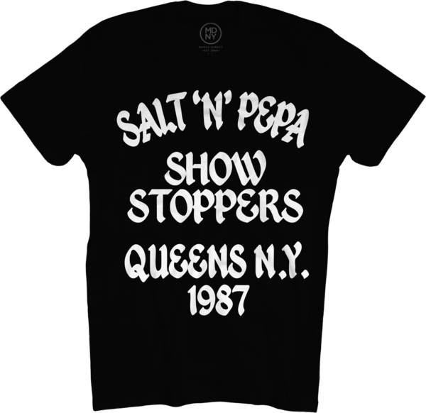 Showstoppers Black T-Shirt