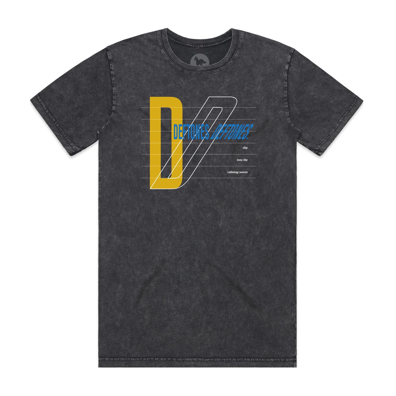 Deftones Deftones Stone Wash Black T-Shirt