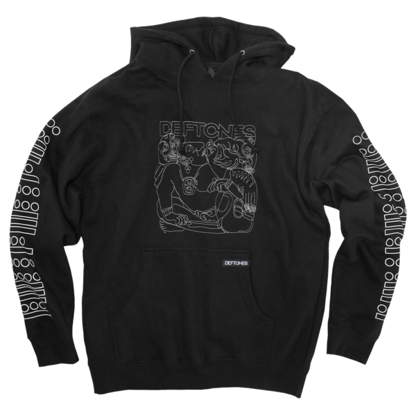 Glyph Embroidered Pullover (Black)