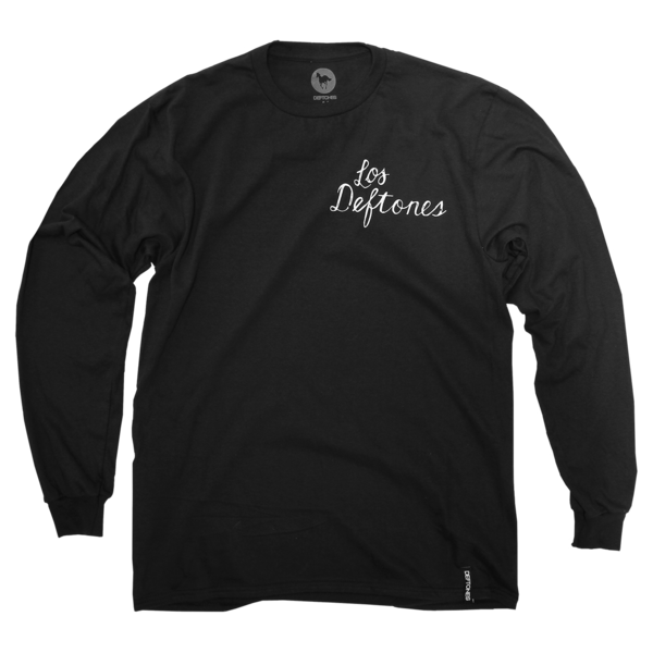 Los Deftones Long Sleeve (Black)