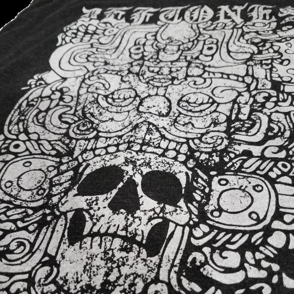 Ancient Skull Racerback Tank (Black)