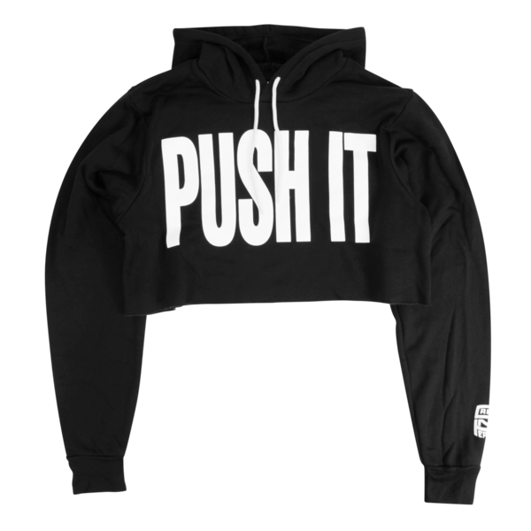Push It Crop Hoody