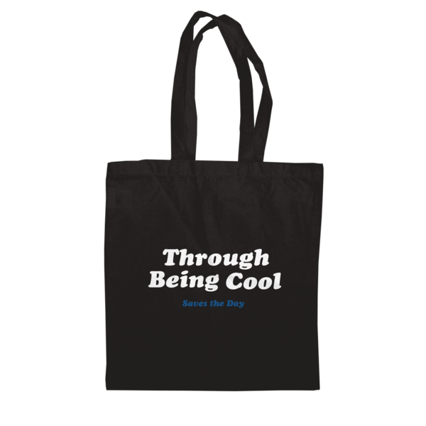 Through Being Cool - Black Tote