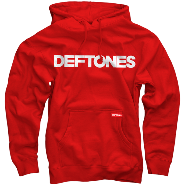 Deftones Red Pullover Hoodie