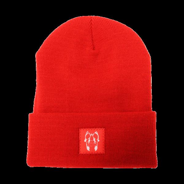 Minerva Red Beanie