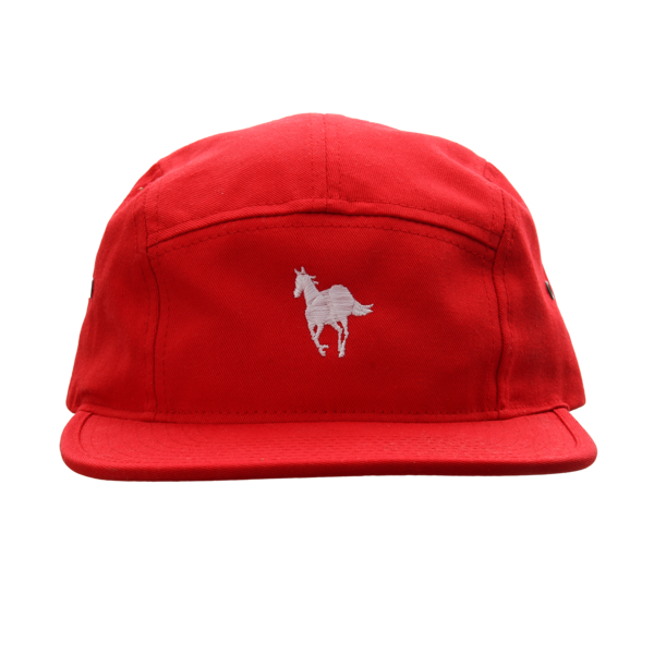 White Pony Red 5 Panel Camper