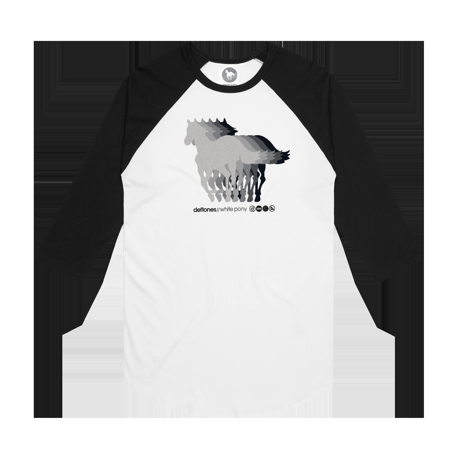 White Pony 20th Anniversary Baseball Tee