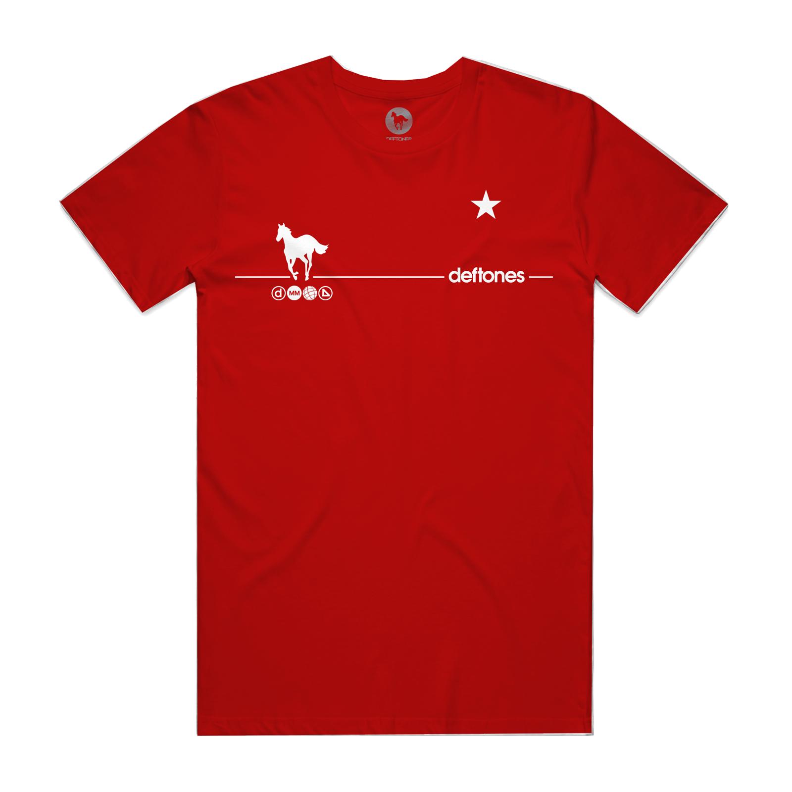 White Pony 20th Anniversary Red T-Shirt