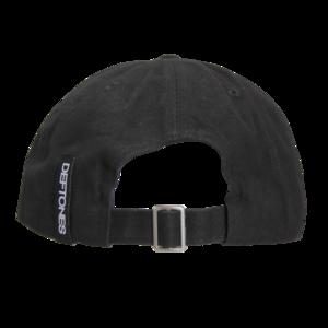 Neon Flamingo Black Dad Hat